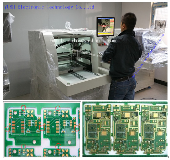 Curve PCB Routers Machine-YSVC-650  loading/unloading PCB Routers