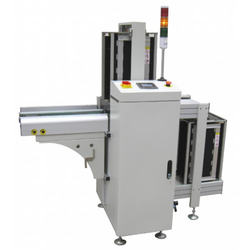 fully automatic PCB magazine loader for SMT reflow soldering production