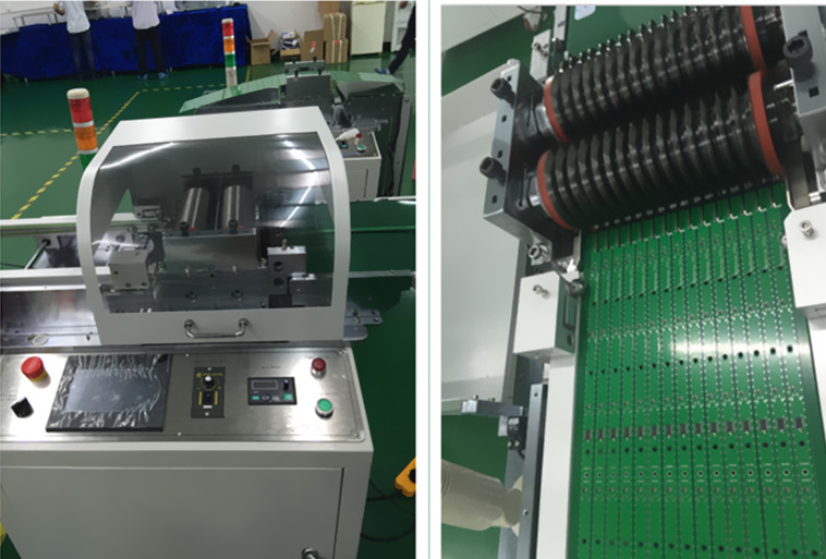Electronic PCB Circuit Board Depaneling Machine, Small And Large Pre-scored PCB Depaneling Machine