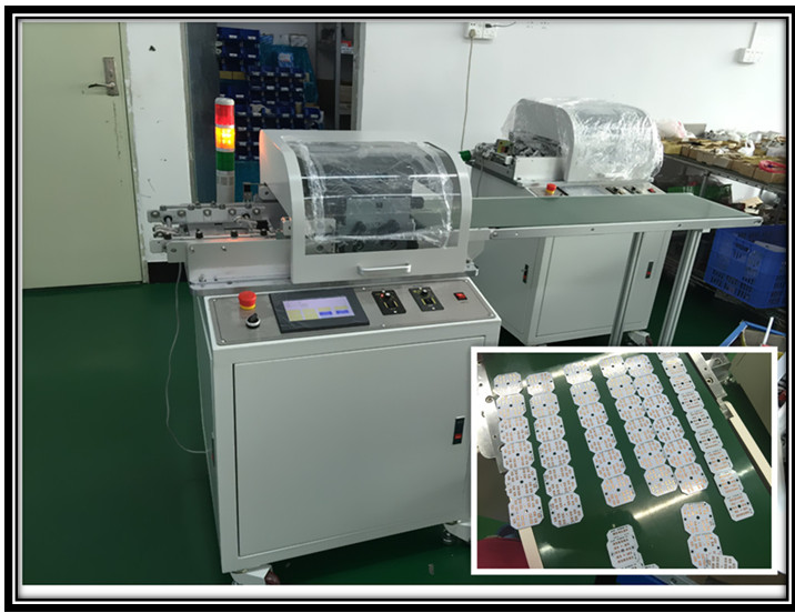 Benchtop PCB Cutting Machine , Fpc / PCB Cutting Machine Equipment For SMT Assembly