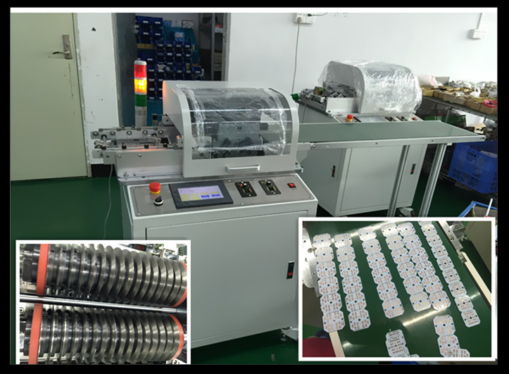 Automatic Fpc / PCB Cutting Machine , Pneumatic Pcb Separator / Depanelizer