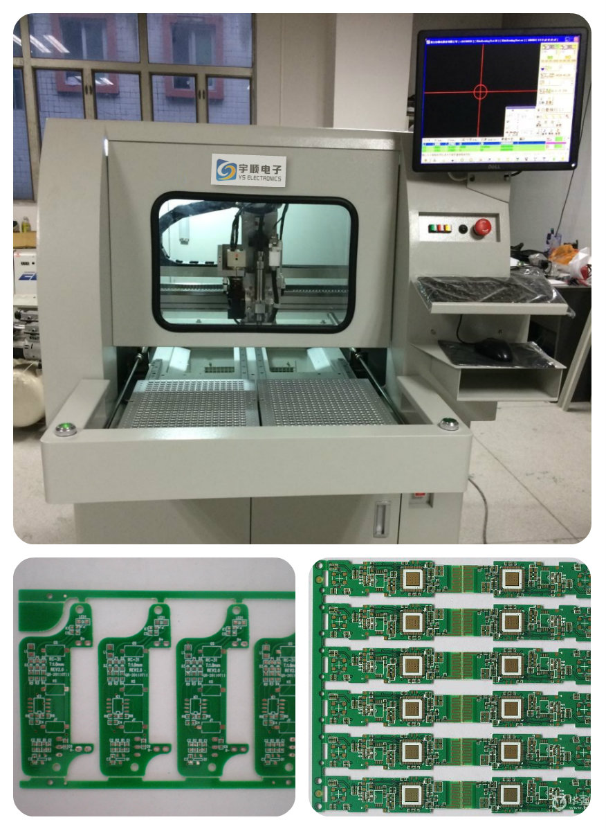 PCB Drilling Machine LCD Screen Display PCB Router CNC PCB Depaneling Routing 322mmx322mm