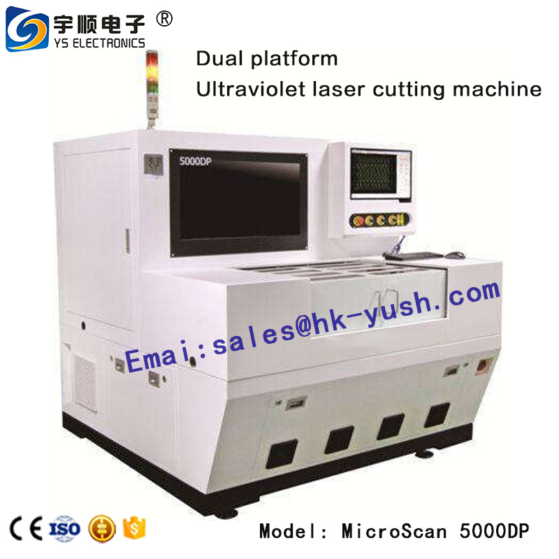 UV laser cutting machine - MicroScan5000DP dual platform