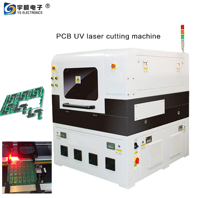 Routing / Die Cutting PCB Depaneling Machine With 355nm Laser Wavelength